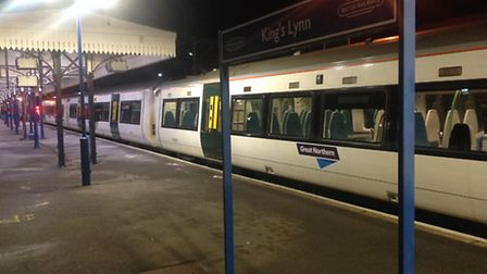 The new train operating between King's Lynn and London. Picture: Great Northern