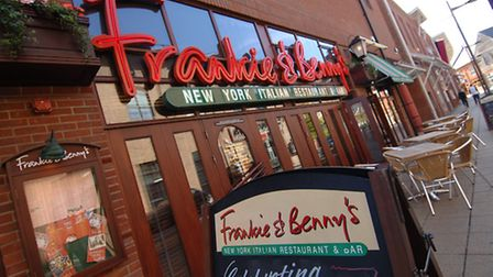 Frankie and Benny's on Riverside, Norwich Photo: Simon Finlay