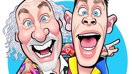Cirque du Hilarious with Clive and Danny at the Hippodrome, Great Yarmouth in February