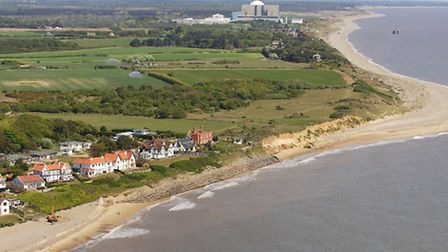 The coastline at Thorpeness. Photo: Mike Page.