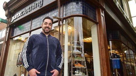 Shop Local feature with Ben Melhado from Junx Clothing, Yarmouth. PHOTO: Nick Butcher