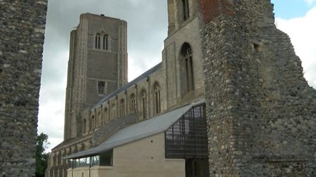 Wymondham Abbey, which features in the Mustard TV show Chris Bailey and The Holy Trail. Photo from