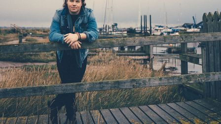 Photo of King's Lynn-born singer, Jake Morrell who will be performing at C2C in March. Photo: Matt W
