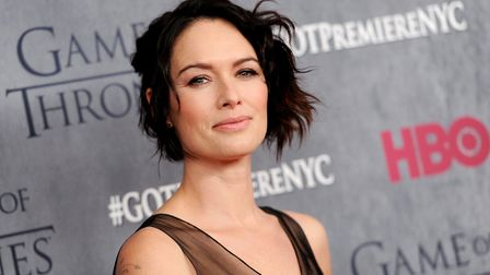 """Actress Lena Headey attends HBO's """"Game of Thrones"""" fourth season premiere. (Photo by Evan Agostini/"""