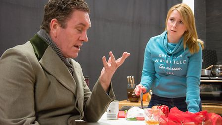 Skylight, written by David Hare, opens at the Maddermarket Theatre in Norwich on Friday, February 17