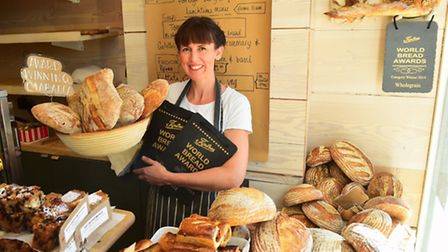 Southwold Chamber of Trade member Rebecca Bishop, owner of the Two Magpies Bakery, is campaigning ag