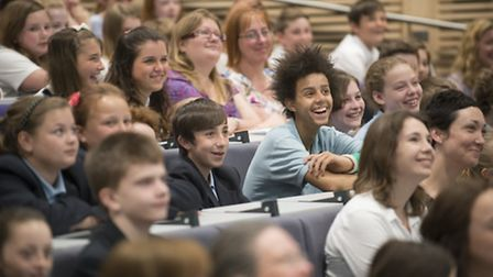 FLY Festival of Literature for Young People 2014. Photo: Peter Everard Smith.
