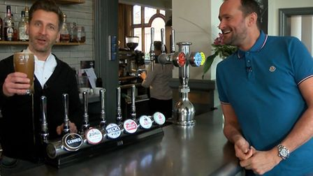 Warwick Street Social in Norwich features in new Mustard TV series about the county's pubs. Photo fr