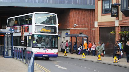 Bus services could be suspended in Great Yarmouth Picture: James Bass