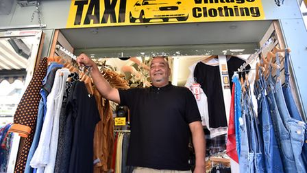 Mark Wright of Taxi Vintage Clothing.