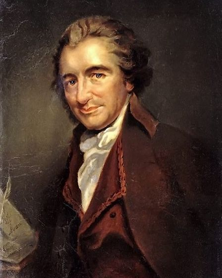 Thomas Paine. Picture: Supplied.