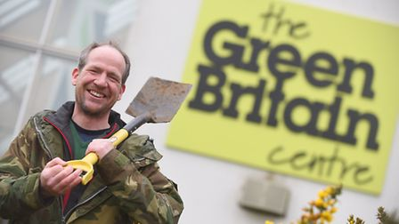 Paul Woodmin, head of the Green Britain Centre in Swaffham. Picture: Ian Burt