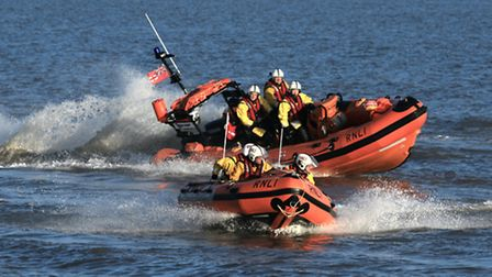 Happisburgh boats: Picture: RNLI