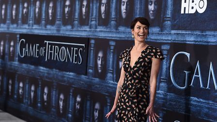 """Actress Lena Headey attends the season six premiere of """"Game Of Thrones"""" at TCL Chinese Theatre on"""