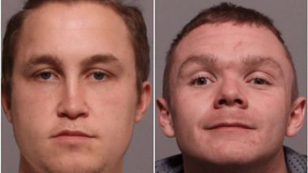 Police have appealed for information to find Matthew Bryan, left, and Lee Heane, right. Picture: Cri