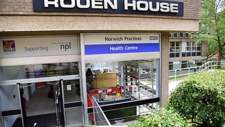 The Out Of Hours service could be about to move to Rouen House. Picture: DENISE BRADLEY