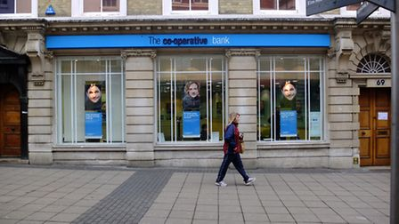 The Co-operative Bank has been put up for sale. Picture: Simon Finlay