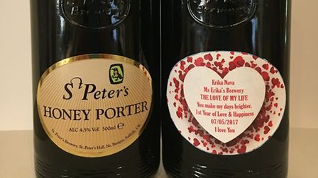 St Peter's Brewery received a request from a customer in Mexico to create a peresonalised version of