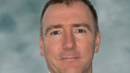 Jon Green, the new chief executive of Queen Elizabeth Hospital King's Lynn NHS Foundation Trust. Pic