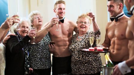 There is a shortage of male topless butlers in Great Yarmouth. Picture: Butlers in the Buff