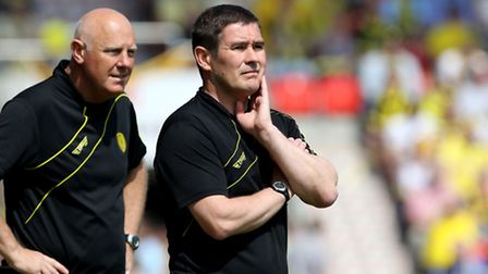 Burton Albion manager Nigel Clough knows the size of the task against Norwich City. Photo: Richard S
