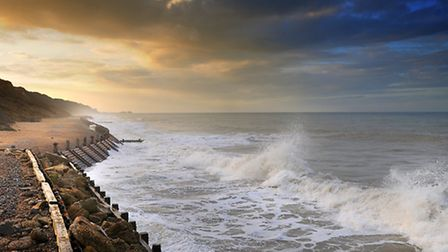Overstrand Beach, where nurdles have been found. Picture: ANTONY KELLY