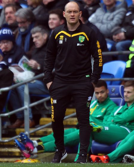 Norwich City manager Alex Neil expects another battle at Burton. Picture by Paul Chesterton/Focus I