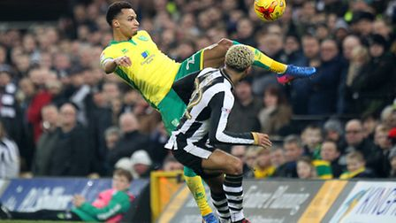 Jacob Murphy notched his eighth goal of the season against Newcastle United. Picture by Paul Cheste