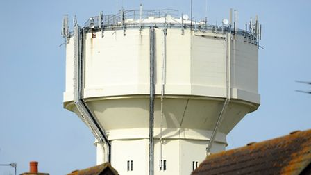 Caister Water Tower which is nearly 80 years old. Picture: James Bass