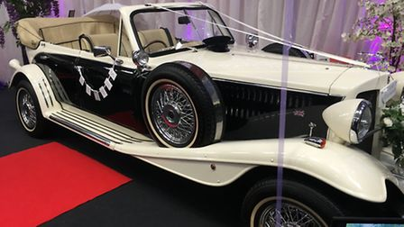 Beauford 1920s replica from Silverline Limousines. Picture: Archant