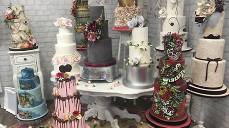 Cakes from Sassa's Bespoke Cakes. Picture: Archant