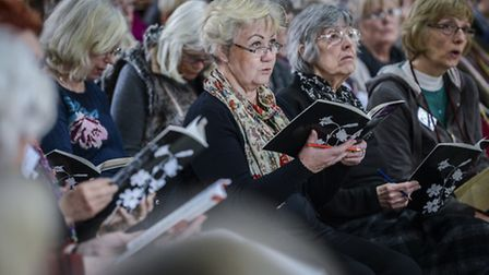 A scene from a previous Fakenham Choral Society concert. Picture: ARCHANT.