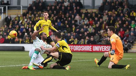 Cameron Jerome notched his fifth in seven games. Picture by Paul Chesterton/Focus Images Ltd