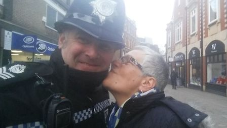 Could you be Sgt Shepherd's new profile picture? Picture: @SgtMarkShepherd