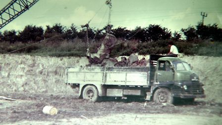 Sugar beet haulier Billy Cornell is retiring after 45 years with the Euston Estate. Pictured: Billy,