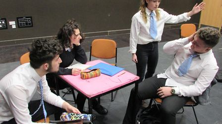 Extremism which is being presented by the Norwich Theatre Royal Youth Company at the theatre's Stage