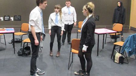Extremeism is being staged as part of the National Theatre Connections scheme which gives young peop