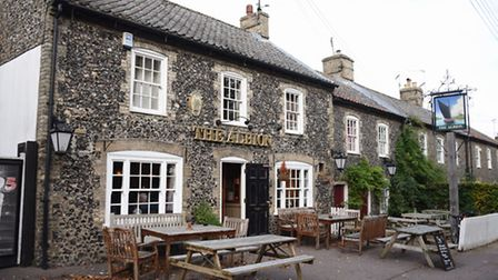 The Albion pub in Castle Street, Thetford. Picture: DENISE BRADLEY