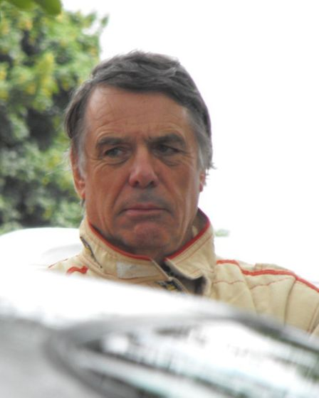 Richard Allen, who has donated a Nembo Spider Ferrari which will be auctioned off to raise money for