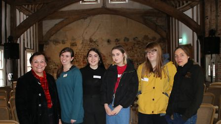 From left, Attleborough Academy assistant principal Carmina McConnell, young ambassadors programme