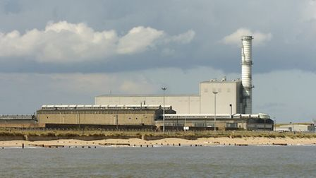 Library image of Great Yarmouth power station at South Denes adjacent to the site of the proposed bi