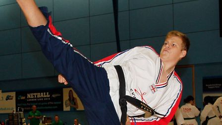 Attleborough taekwondo star is targeting the Tokyo 2020 Olympics. Picture: Submitted