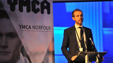 Chief executive Tim Sweeting at the YMCA Norfolk AGM & Annual Celebration Picture by SIMON FINLAY.