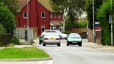 Traffic going down West End in Costessey. Picture: KEITH WHITMORE