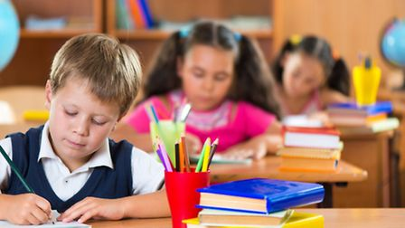 Work in the classroom. Picture: Getty Images
