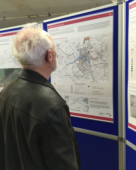 Public exhibition for outline proposals for 200 homes on land at Chediston Street, Halesworth