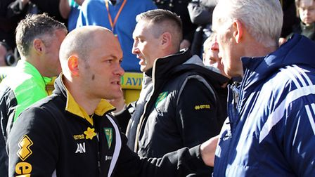 Alex Neil and Mick McCarthy go head-to-head again on Sunday in the latest East Anglian derby. Pictur