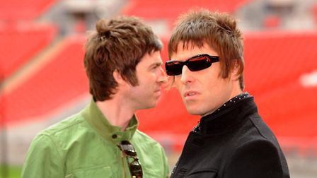 Oasis who have inspired Noasis who are appearing in Great Yarmouth on March 11. Zak Hussein/PA Wire