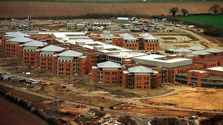 The hospital was completed in 2001. Photo: Bill Smith