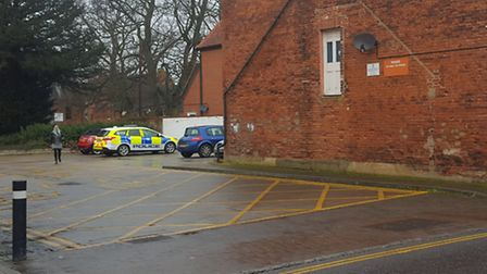 Police called following call about an alarm activation in Dereham. Picture: DONNA-LOUISE BISHOP